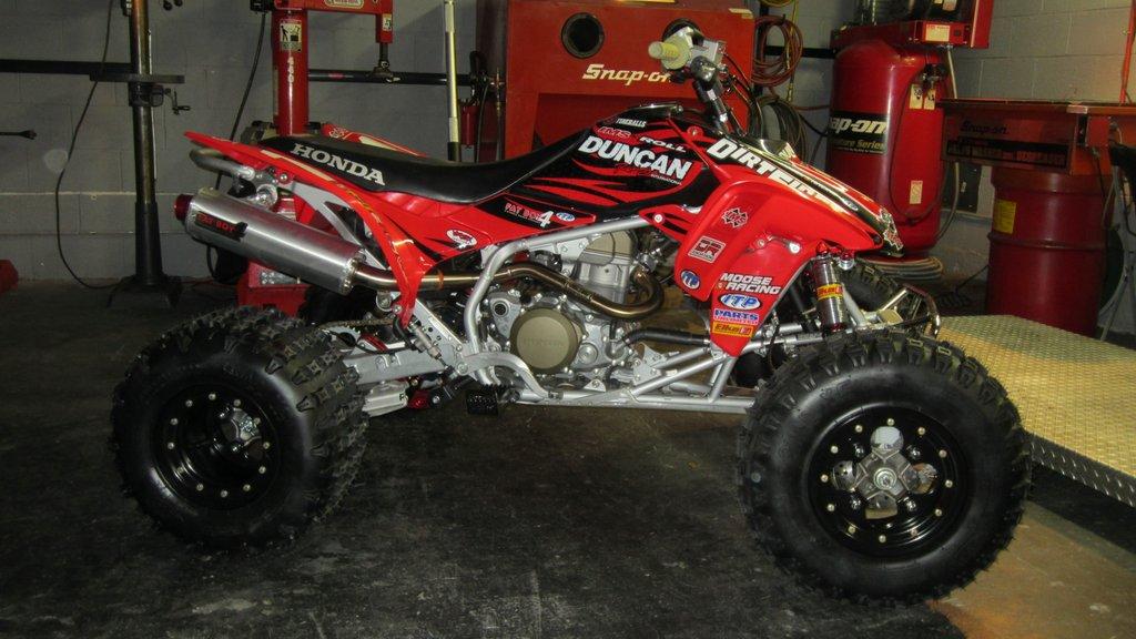 187 Honda Trx450r Race Quad Build Dirt First Racing
